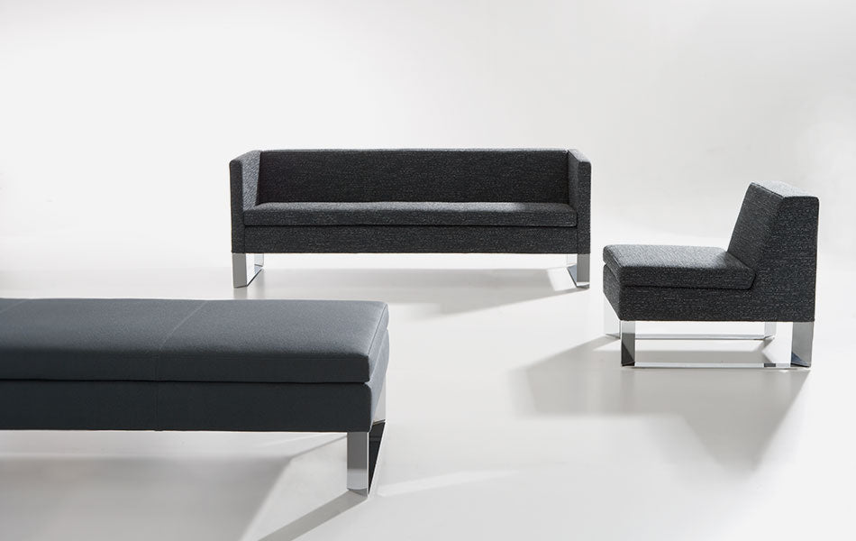 Quoin 1 Seater Lounge (leather)