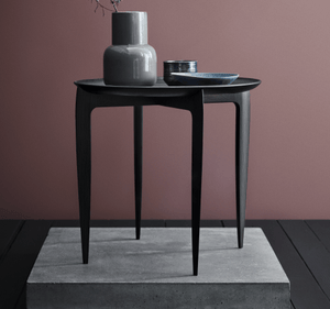 Foldable Tray Table - Black Lacquered