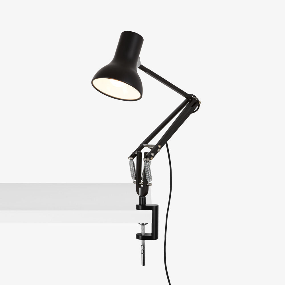 Type 75 Mini Desk Lamp with Clamp