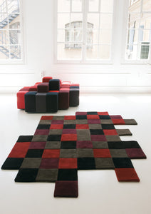 Do-Lo-Rez 2 Red Rug - 207x253cm
