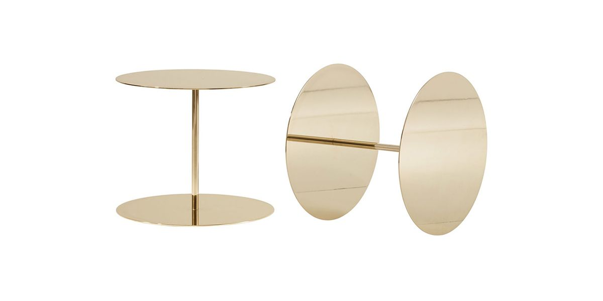 Gong Lux - side table 50cm dia.