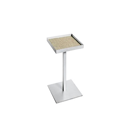 Metal Standing ashtray