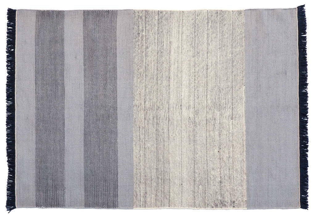 Tres Stripes Blue Rug - 200x300cm
