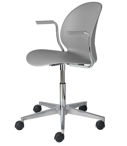 N02 Recycled Chair - 5 Star Swivel, w/arm