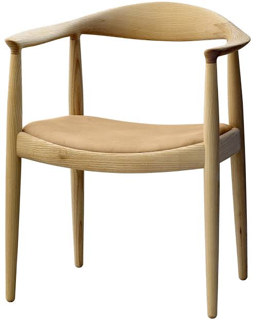 PP503 Round chair upholstered