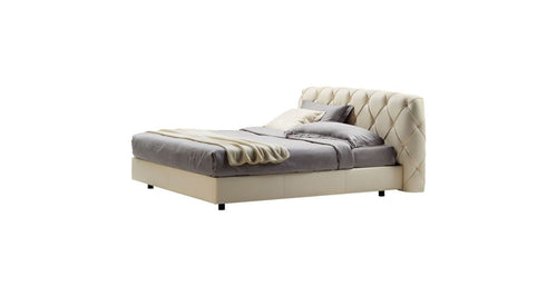 Flair - Bed w/ fabric back 160