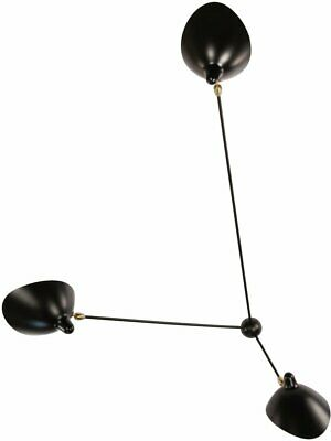 Spider 3 Arm Still Ceiling Lamp by Serge Mouille