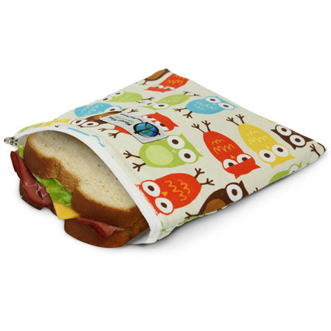 Planet Wise reusable sandwhich zipper bag