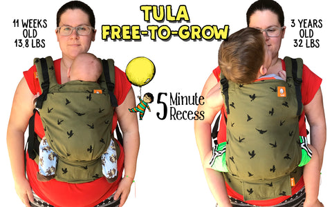 Baby Tula Free-to-grow comparison