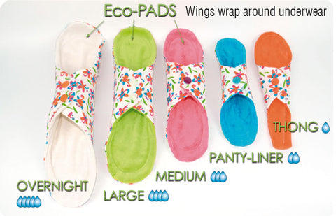 Orethic Sanitary pad options mama cloth