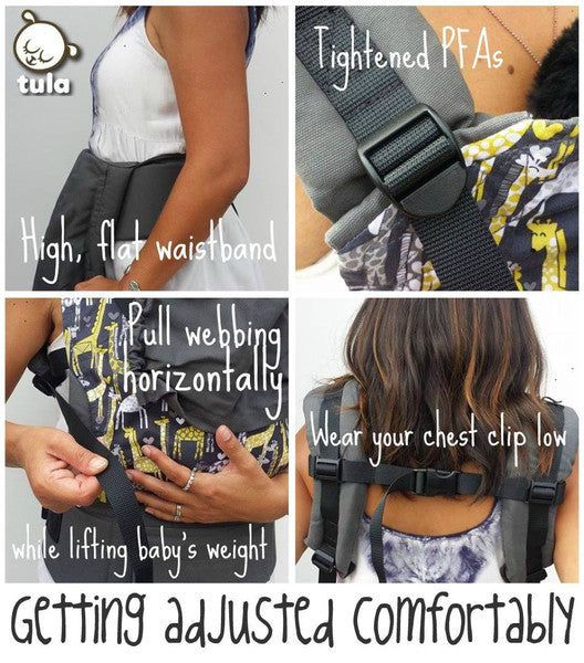 Tula Ergonomic Carrier Endeering
