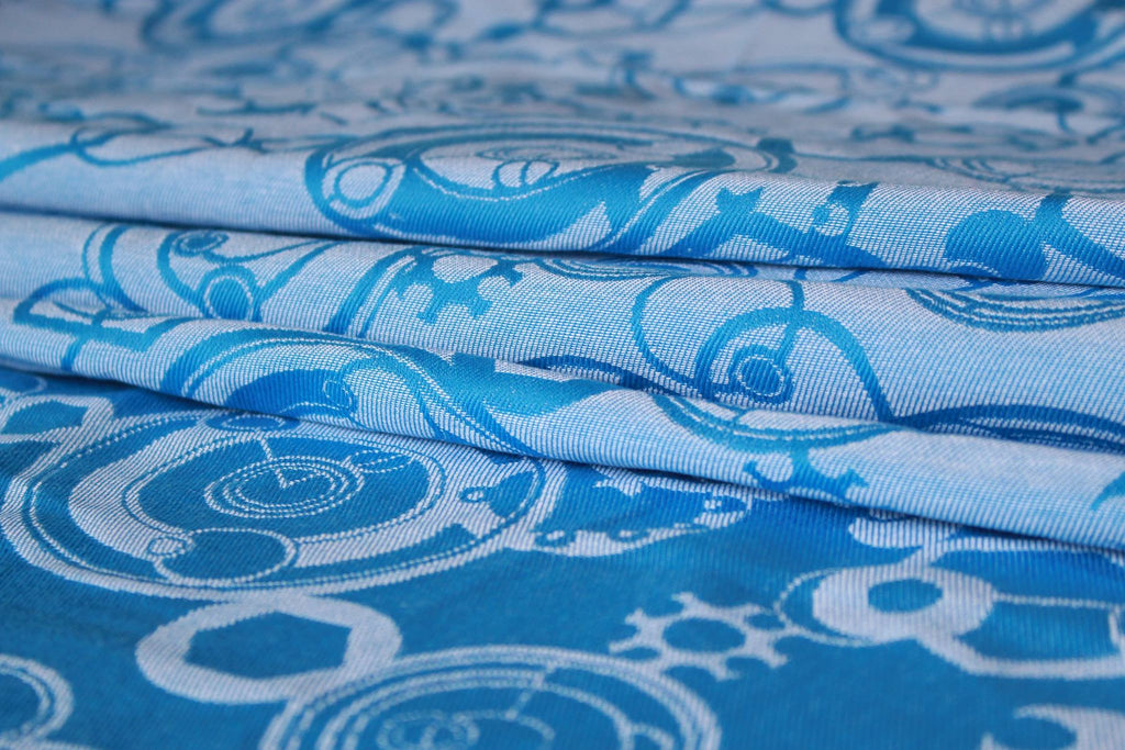 Yaro Quantum Light Blue Wrap (cotton)