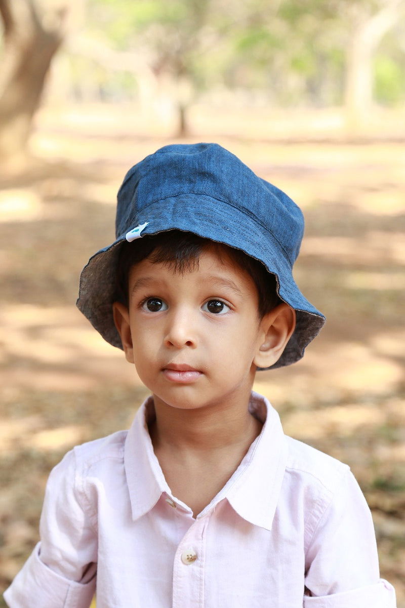 Soul Slings Sun Hats for Kids Cerulean