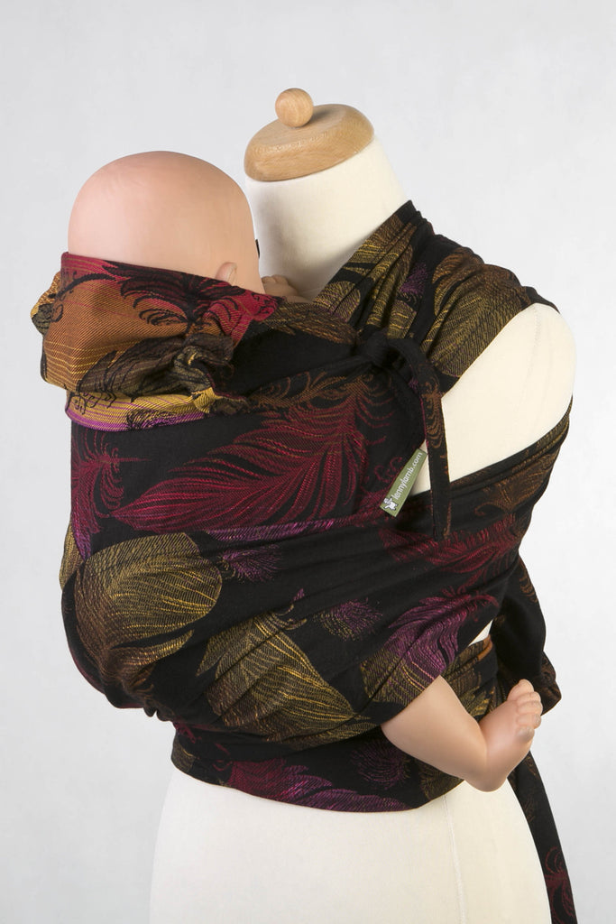 Lenny Lamb Feathers on Fire Wrap Tai (cotton) Reversible