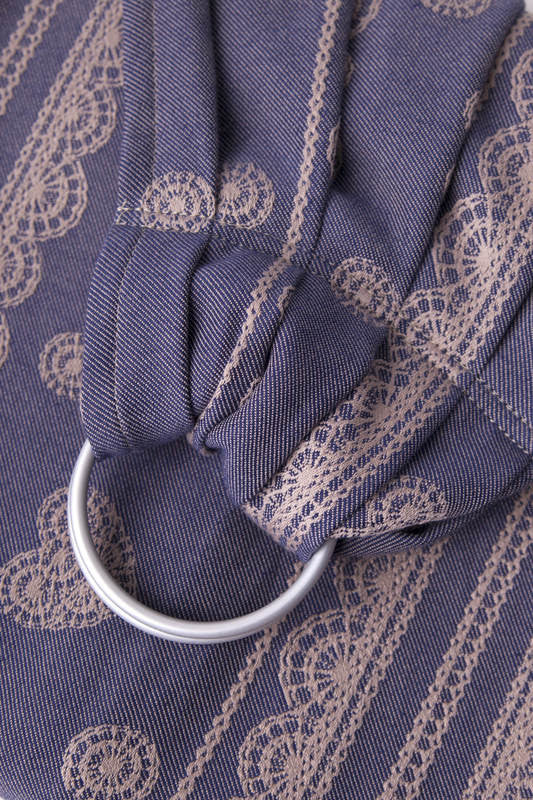Lenny Lamb Blueberry Lace (cotton) Ring Sling - IN TRANSIT
