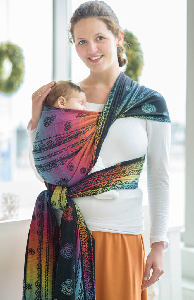 Lenny Lamb Rainbow Lace Dark Wrap (cotton)