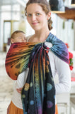 Lenny Lamb Rainbow Lace Dark (cotton) Ring Sling