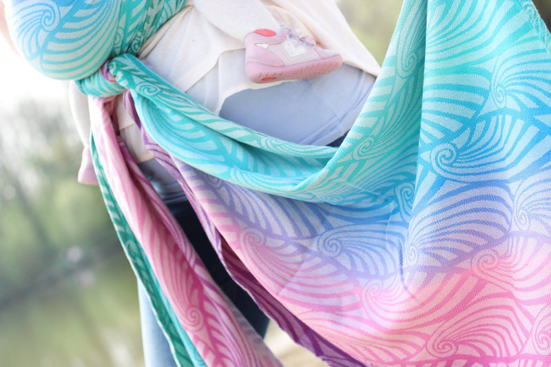 Yaro Dandy Spring Sunrise Grad Wrap (bamboo blend)