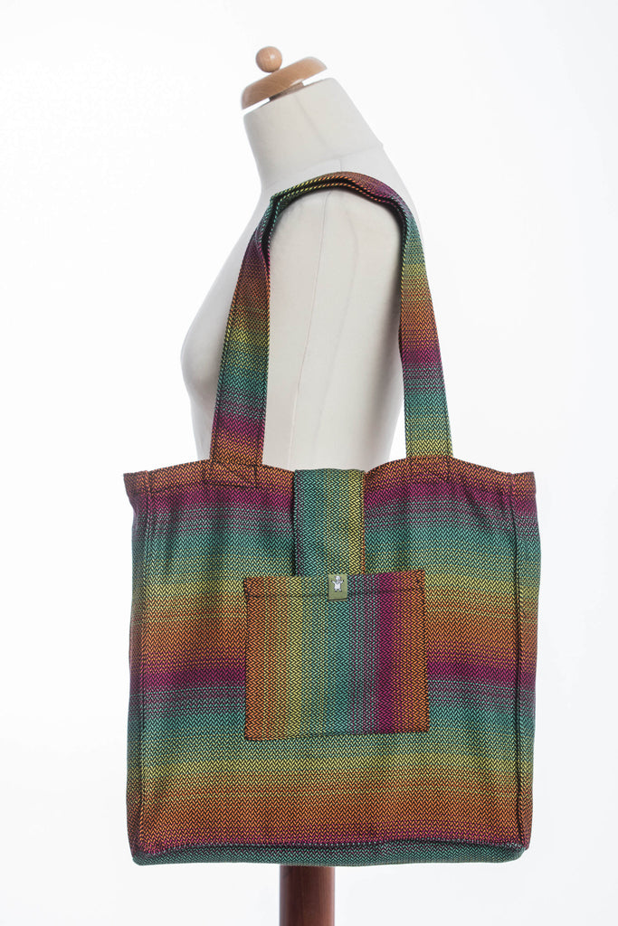Lenny Lamb Shoulder bag Little Herringbone Imagination Dark