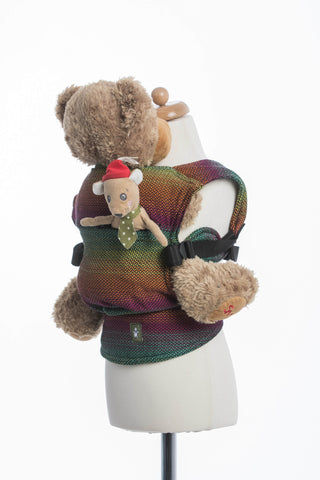 Lenny Lamb Doll Carrier Little Love Herringbone Imagination Dark
