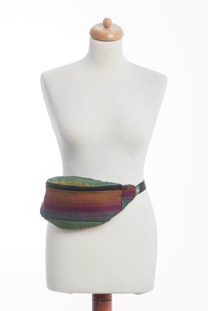 Lenny Lamb Waist Bag Little Herringbone Imagination Dark
