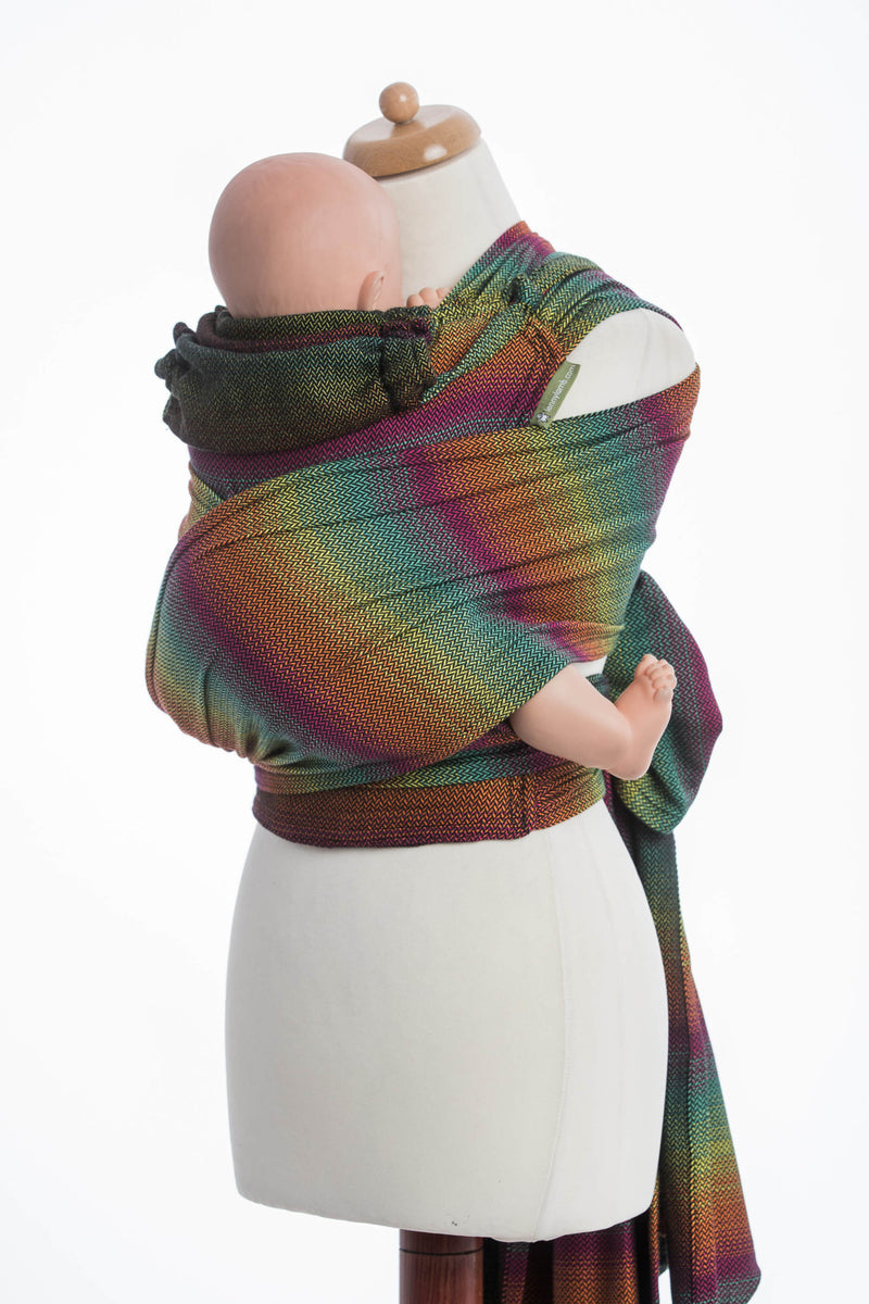 Lenny Lamb Little Herringbone Imagination Dark Wrap Tai (Cotton)