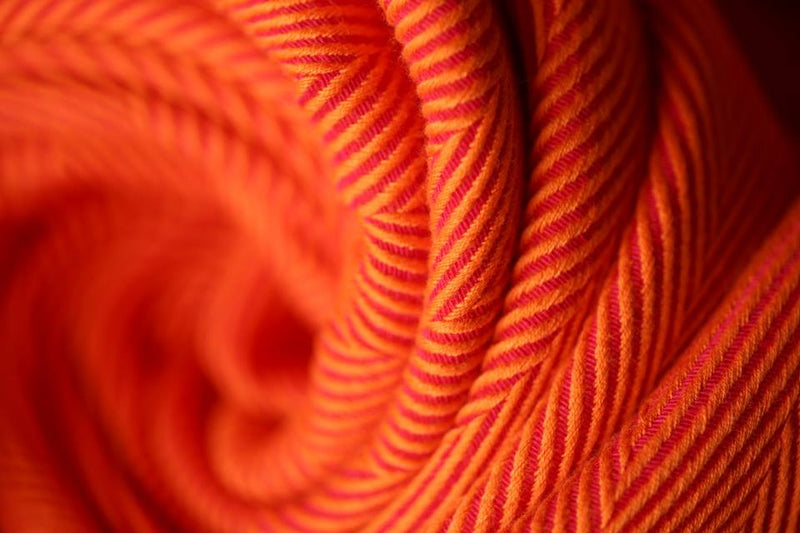 Yaro Yolka Red Orange Wrap (cotton)