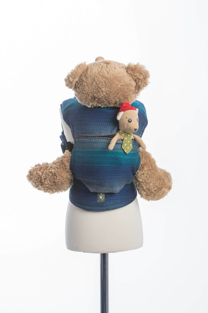 Lenny Lamb Doll Carrier Little Love Herringbone Illusion