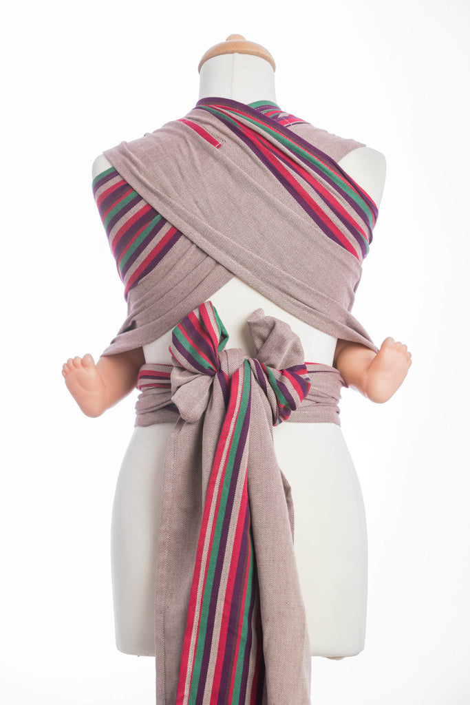 Lenny Lamb Heather Nights Wrap Tai (cotton) Reversible