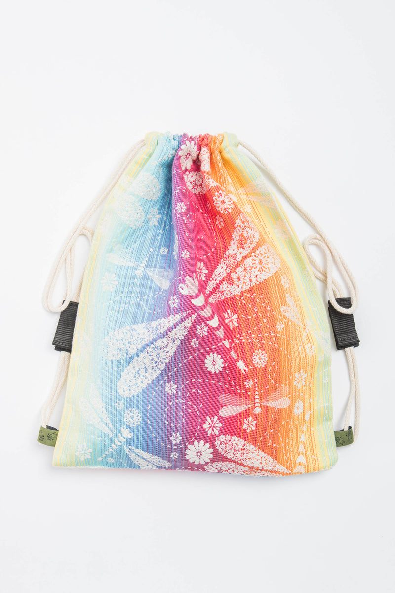 Lenny Lamb Dragonfly Rainbow Sackpack