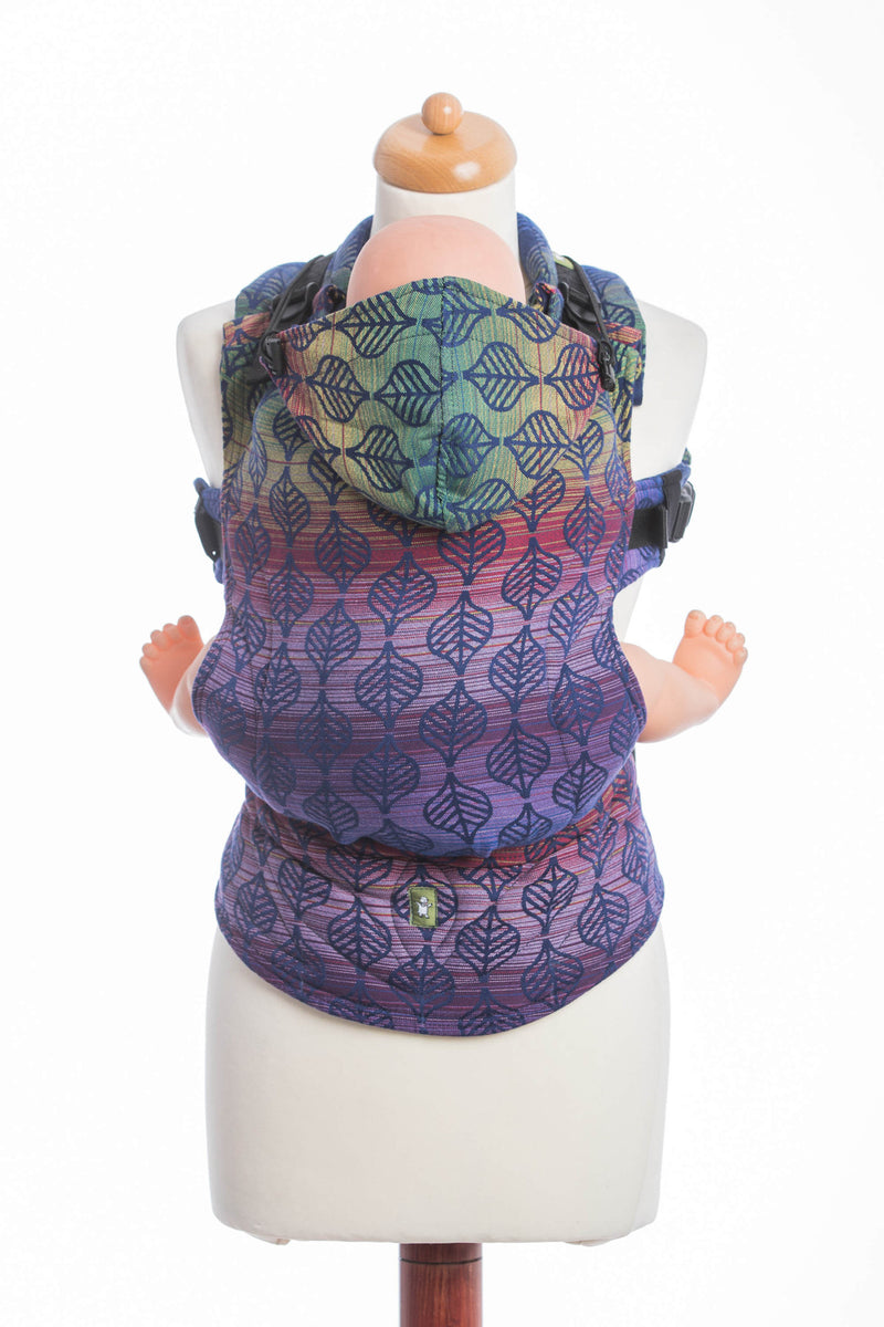 Lenny Lamb Dahlia Petals Ergonomic Full Buckle Carrier (cotton)