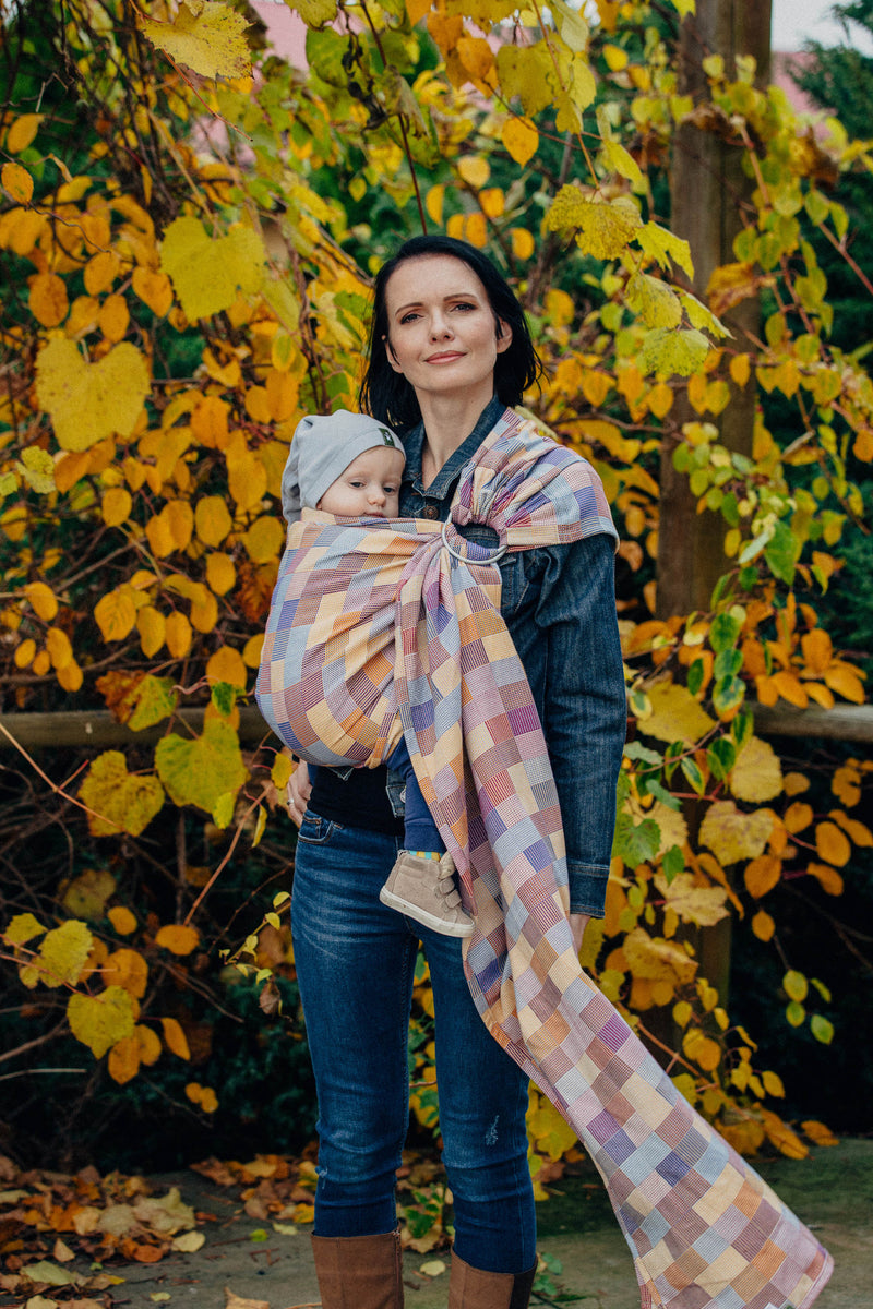 Lenny Lamb Crackle Weave Ring Sling (cotton)