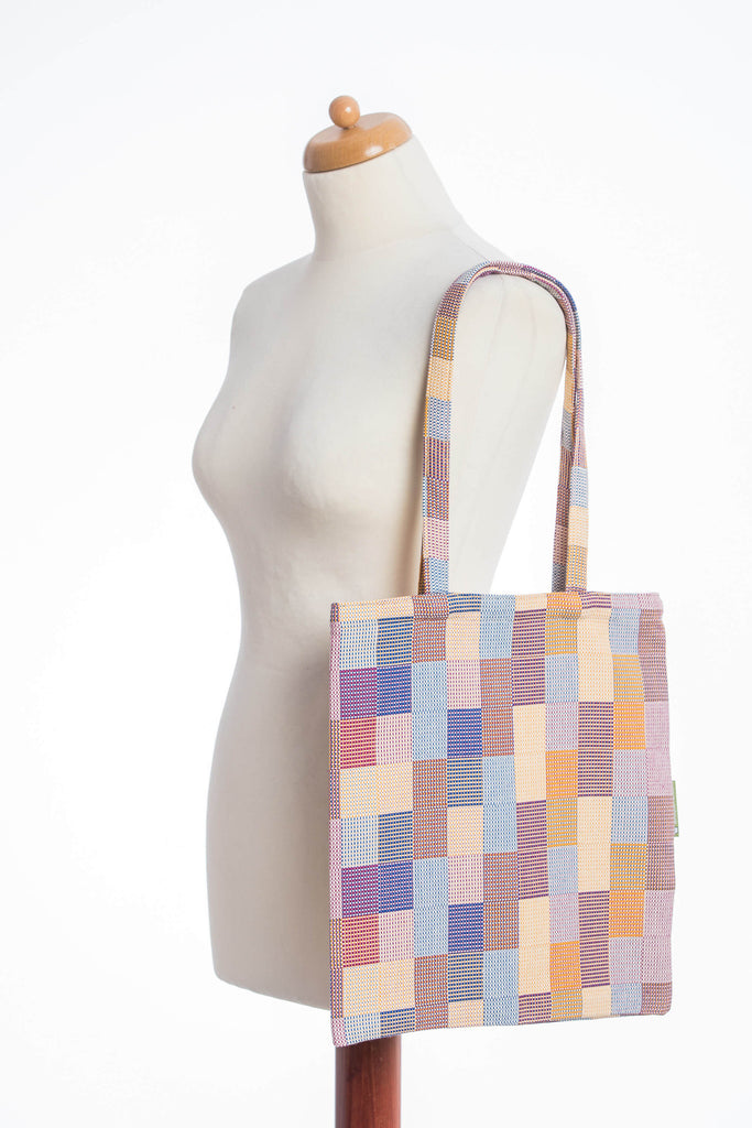 Lenny Lamb Crackle Weave Quartet Shopping bag