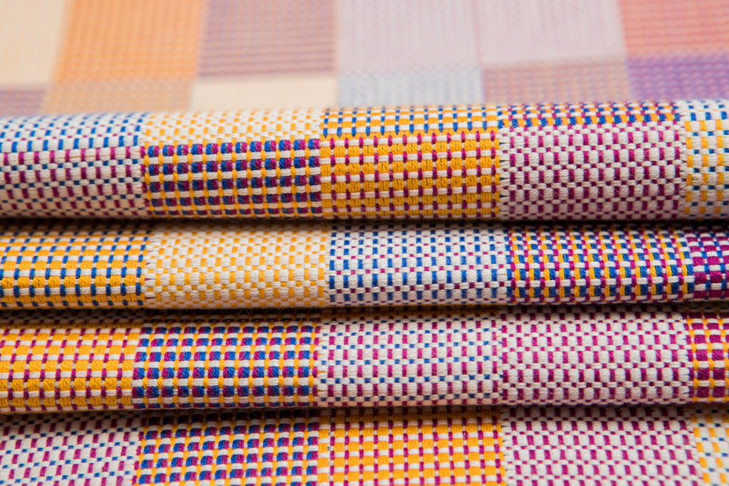 Lenny Lamb Crackle Weave Quartet Wrap (cotton)