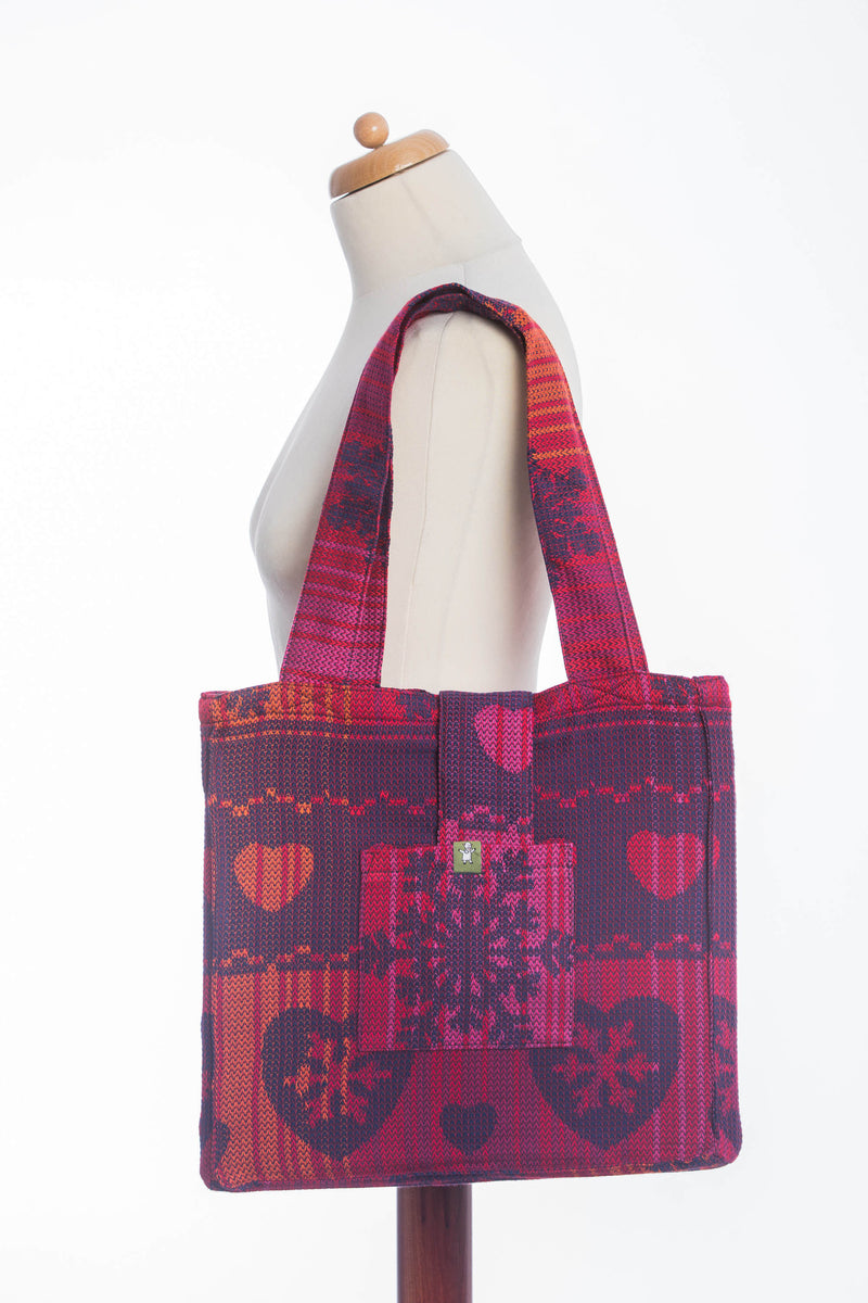 Lenny Lamb Warm Hearts with Cinnamon Shoulder Bag