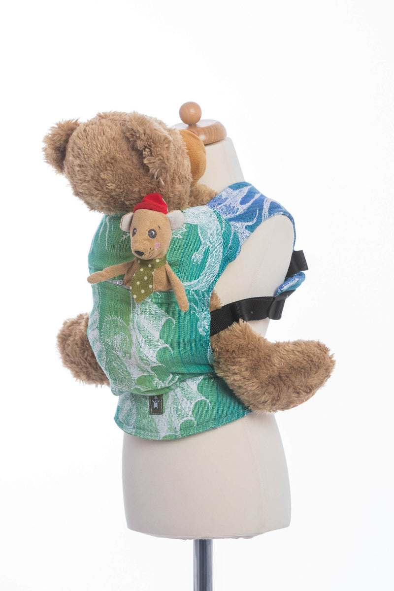Lenny Lamb Dragon Green and Blue Doll Carrier