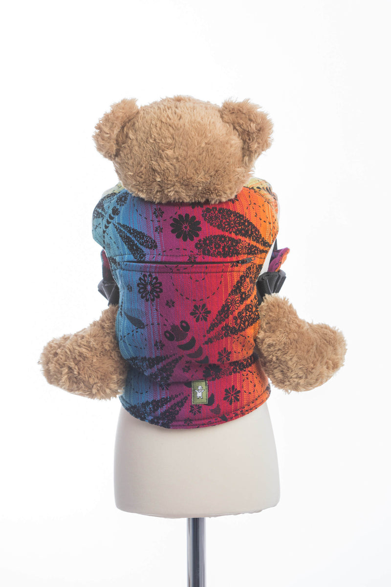 Lenny Lamb Dragonfly Rainbow Dark Doll Carrier