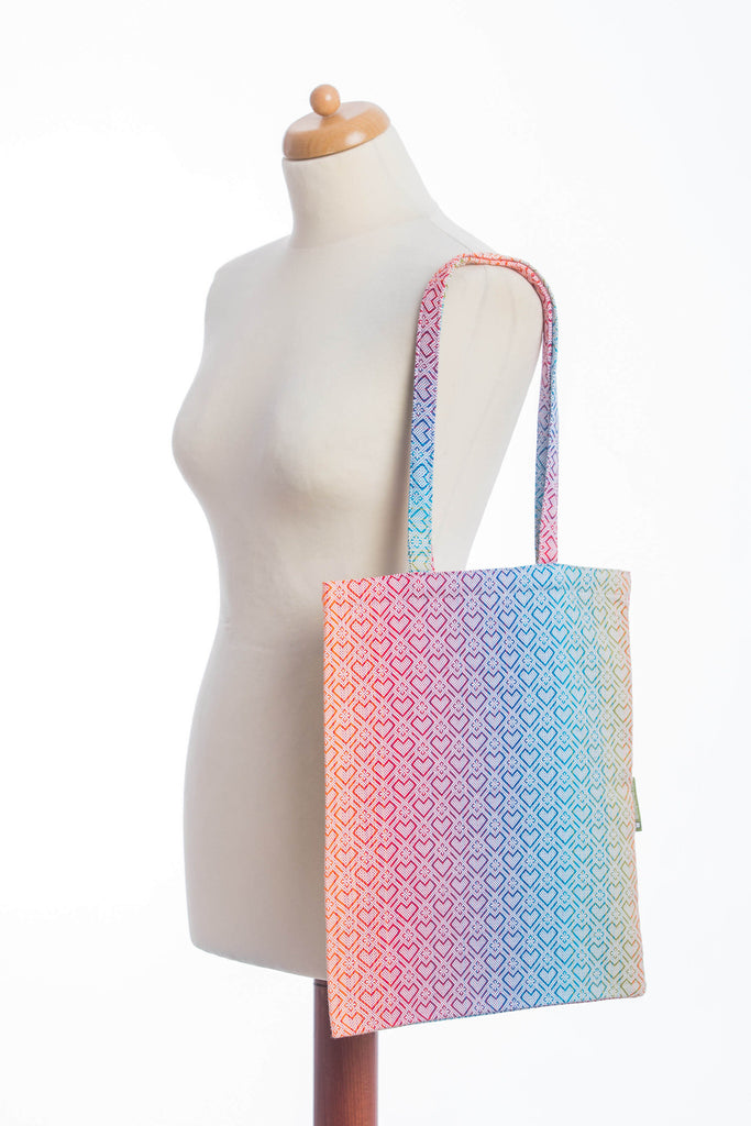 Lenny Lamb Big Love Rainbow Shopping Bag