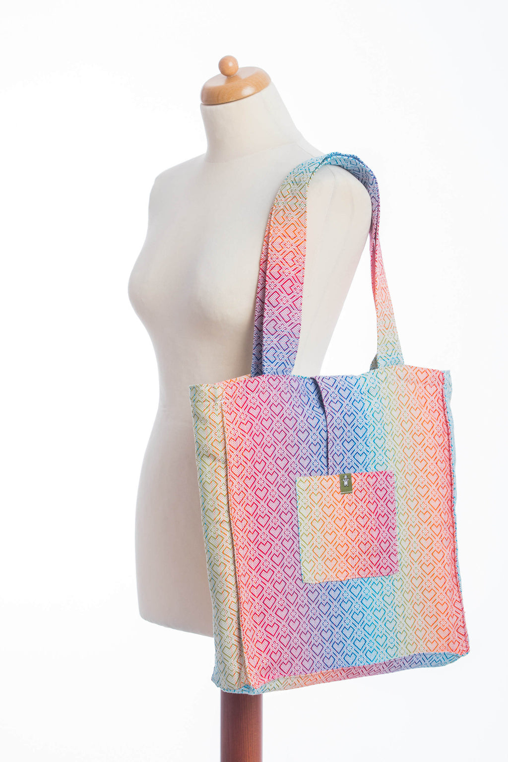 Lenny Lamb Big Love Rainbow Shoulder Bag