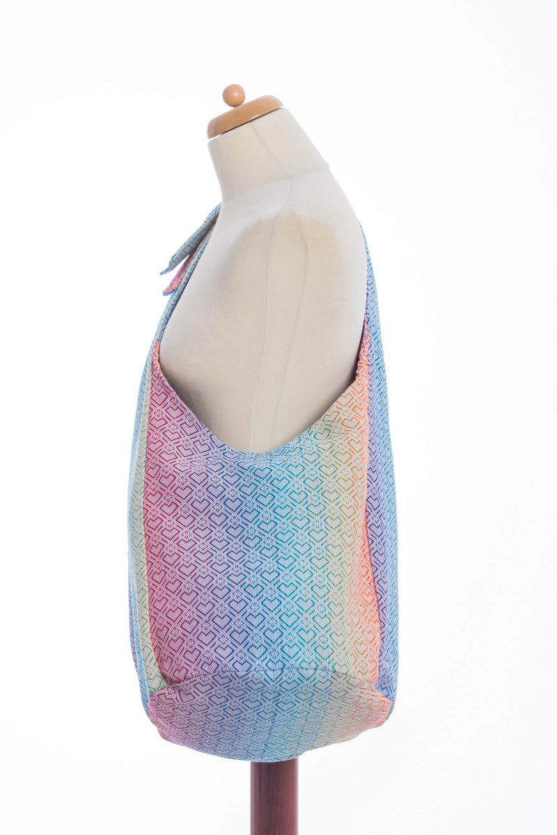 Lenny Lamb Big Love Rainbow Hobo Bag