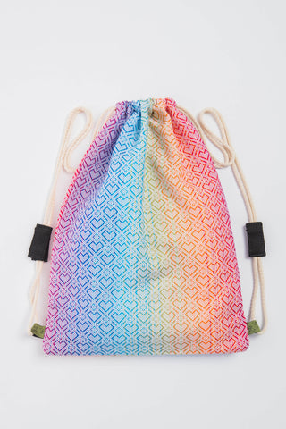 Lenny Lamb Big Love Rainbow Sackpack