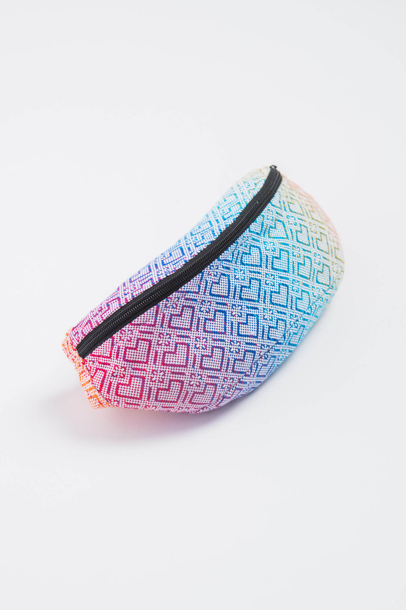Lenny Lamb Big Love Rainbow Waist Bag - IN TRANSIT