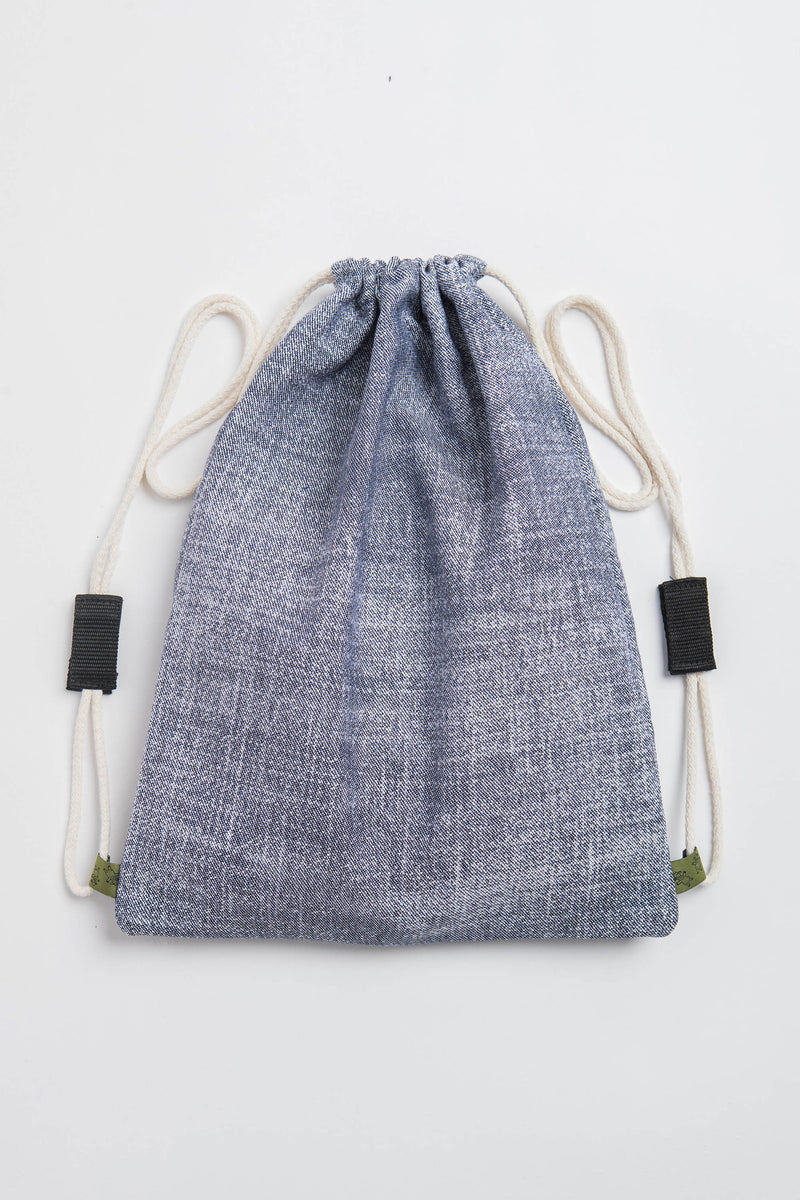 Lenny Lamb Denim Sackpack
