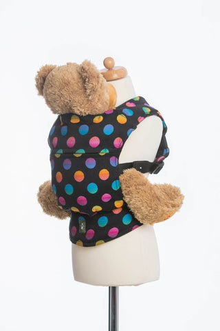 Lenny Lamb Polka Dot Rainbow Dark Doll Carrier