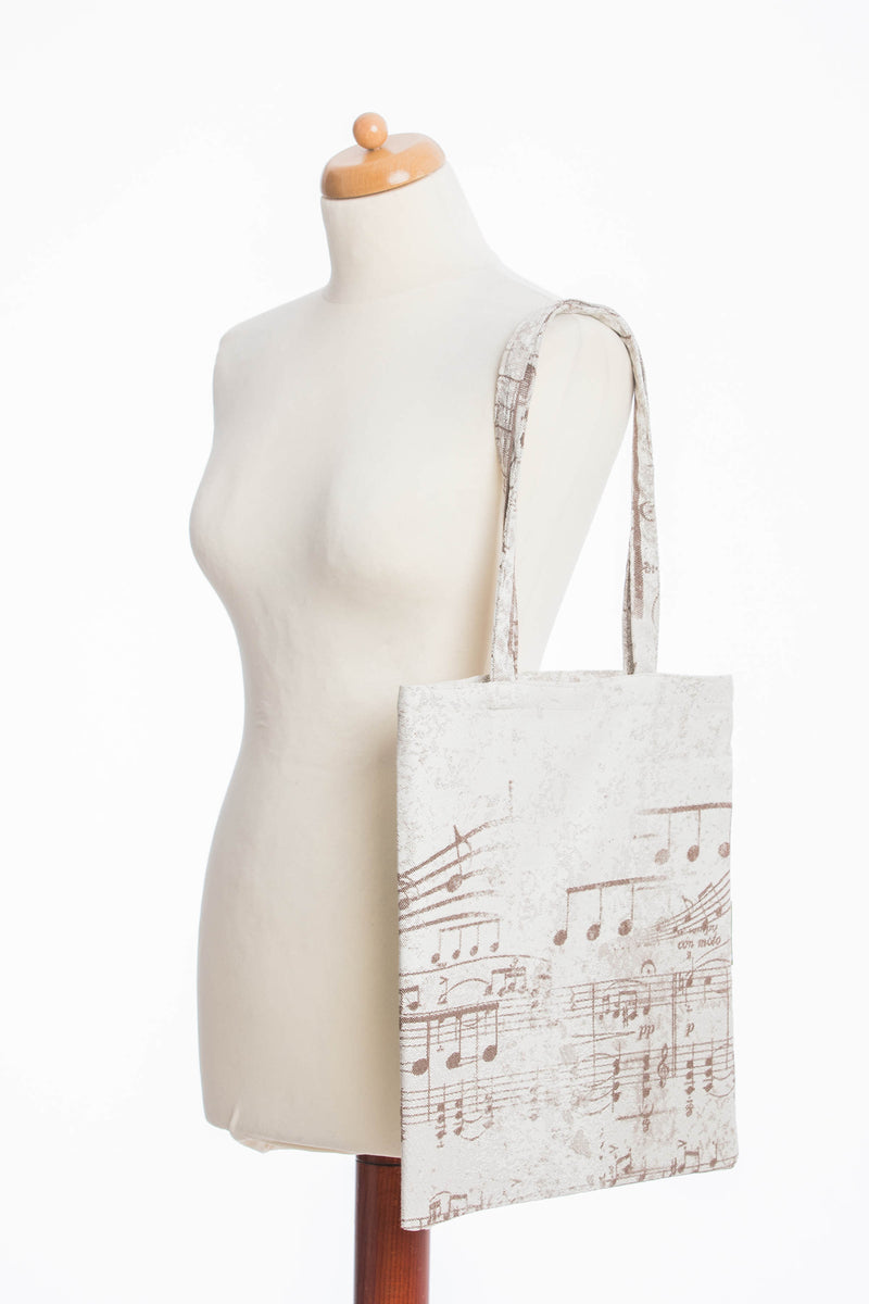 Lenny Lamb Symphony Brown Shopping bag