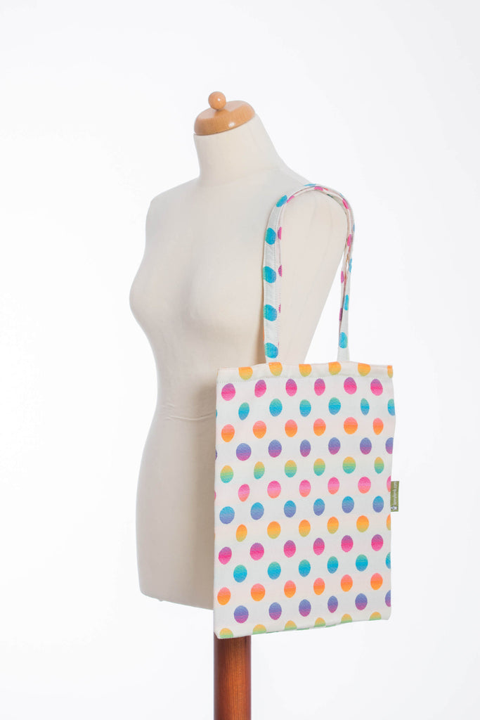 Lenny Lamb Polka Dot Rainbow Shopping bag