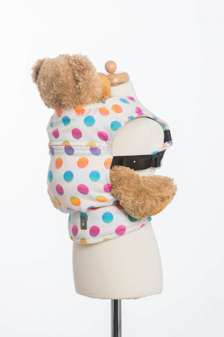 Lenny Lamb Polka Dot Rainbow Doll Carrier