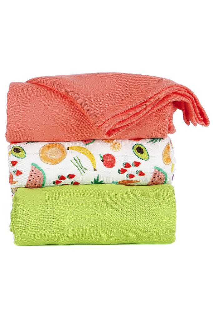 Tula Blanket Set Juicy Persimmon