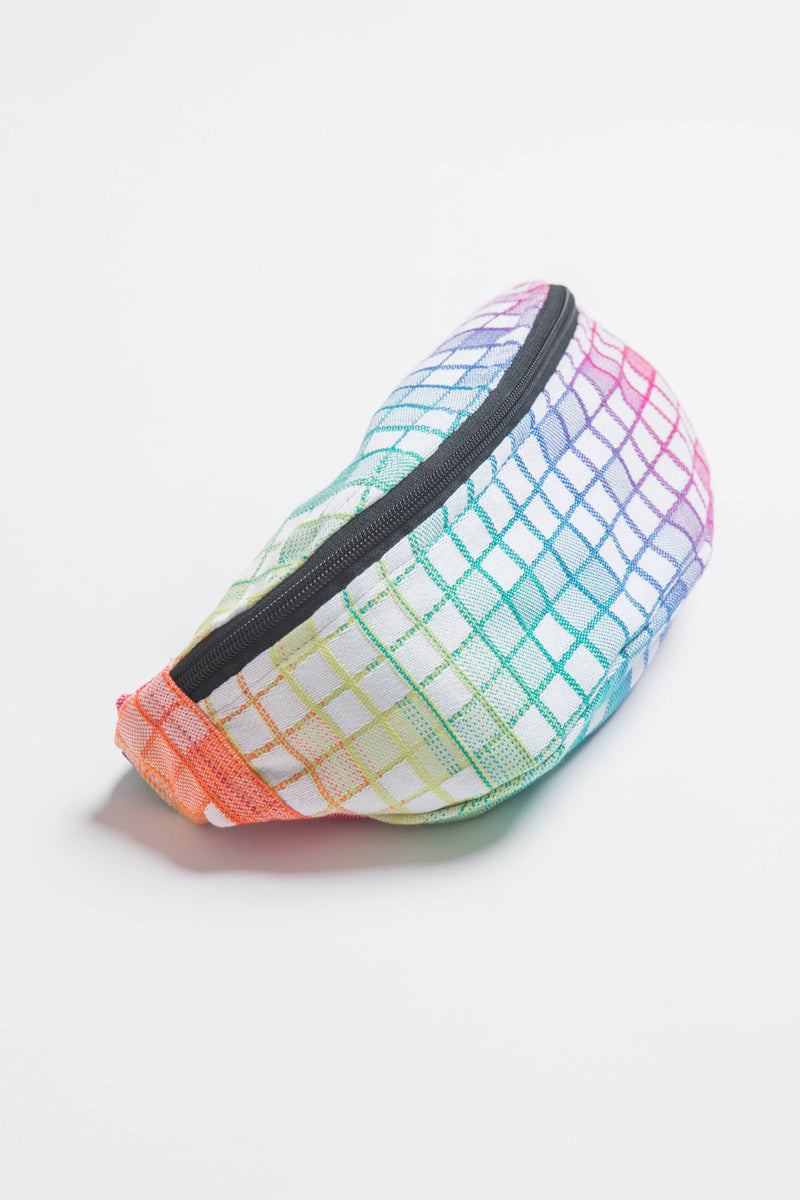 Lenny Lamb Mosaic Rainbow Waist Bag  Apps   Save