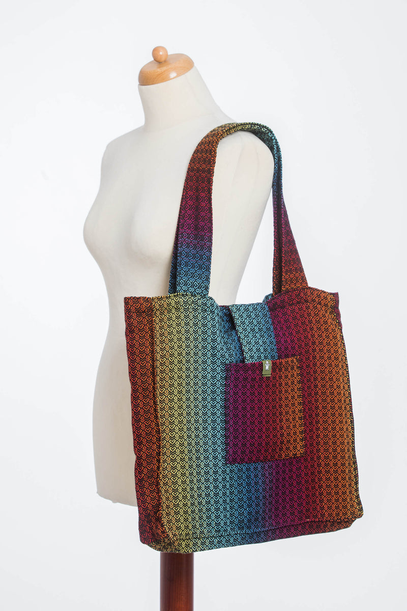 Lenny Lamb Little Love Rainbow Dark Shoulder Bag